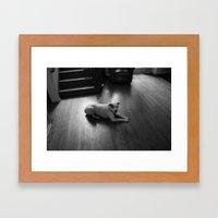 Dawg: 3 Framed Art Print