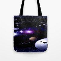 Sternenwelt abstrakt. Tote Bag