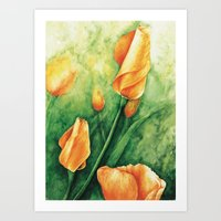 Ready To Bloom Art Print