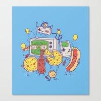 Woohoo! Canvas Print