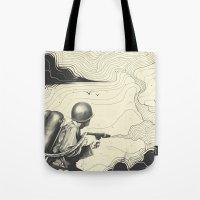 Sky Thrower Tote Bag
