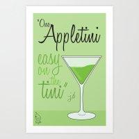 Tv Drink Quotes [ SCRUBS… Art Print