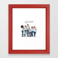 Intersectional Rosie The… Framed Art Print