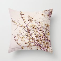 the sun is in the sky  Throw Pillow