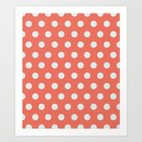 Dots collection IIII Art Print
