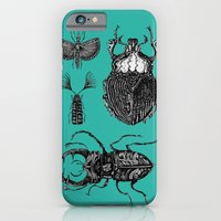 iPhone & iPod Case featuring Insects by Ejaculesc