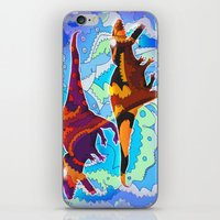 Dinosaur Collaboration iPhone & iPod Skin