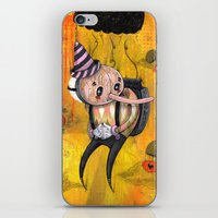 No Strings Attached Prin… iPhone & iPod Skin