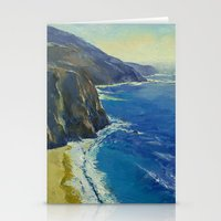 Big Sur California Stationery Cards