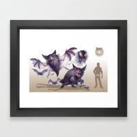 Pokemon-Gengar Framed Art Print