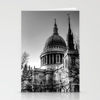 St Pauls, London Stationery Cards