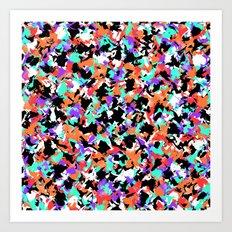 Camouflage #6 Art Print