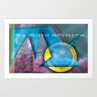 Nature Spirits Warning S… Art Print