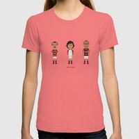 Flamengo Womens Fitted Tee Pomegranate SMALL