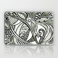 Zentangle Flowering Laptop & iPad Skin