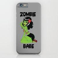 Zombie Babe iPhone 6 Slim Case