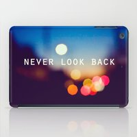 Never Look Back iPad Case