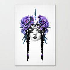 New Way Warrior Canvas Print