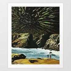 Ricordo di una supernova Art Print