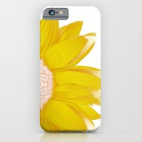 Portrait Of Summer - Yel… iPhone 6 Slim Case