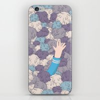 Spock's Trouble With Tri… iPhone & iPod Skin