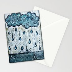Grey Day Stationery Cards