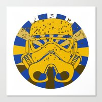Psychedelic Trooper Canvas Print