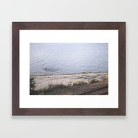 carkeek. Framed Art Print