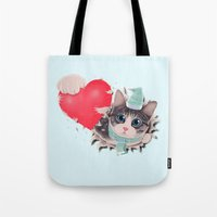 Steal Heart (light) Tote Bag