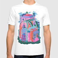 The Seeing House Mens Fitted Tee White SMALL