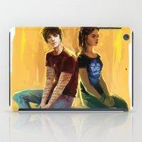 Jordan Kyle & Maia Rober… iPad Case