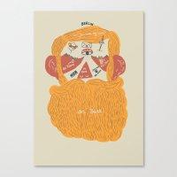 Der Bart Canvas Print