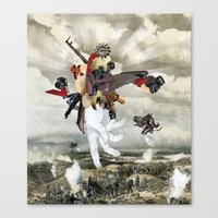Mingadigm | Let There Be… Canvas Print