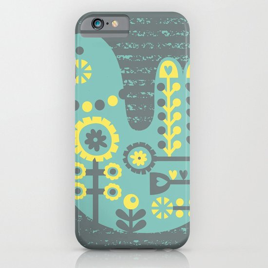Folksy Birdie iPhone & iPod Case