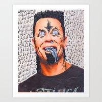 Am I Evil I Am Art Print