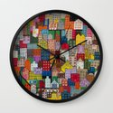 Love What Remains Wall Clock