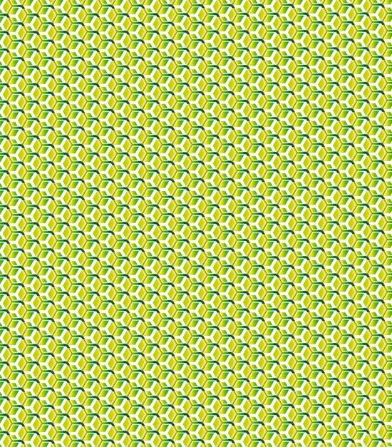 pattern green Art Print