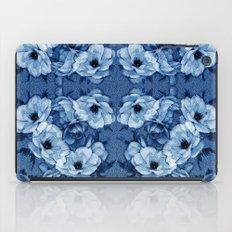 Vintage Rosas Indigas iPad Case