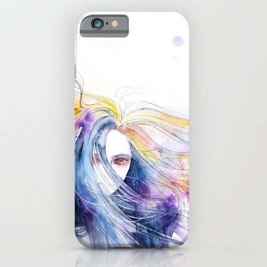 Big Bang in watercolor iPhone & iPod Case