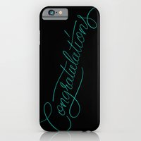 iPhone & iPod Case featuring Congratulations by Mike Greenwell