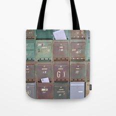 Mailboxes I Tote Bag