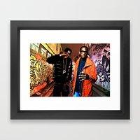 Wiz & Tempah Framed Art Print