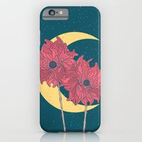 Midnight Flowers iPhone 6 Slim Case