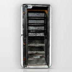 Old Door iPhone & iPod Skin