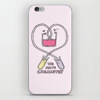 Chemistry Valentine iPhone & iPod Skin
