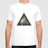 Modern Heidi Mens Fitted Tee White SMALL