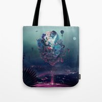 flying object Tote Bag