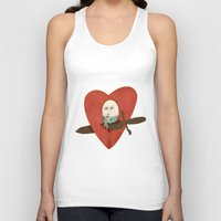the lover Unisex Tank Top