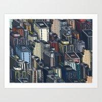 In The City Art Print