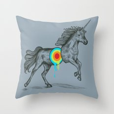 Unicore II Throw Pillow